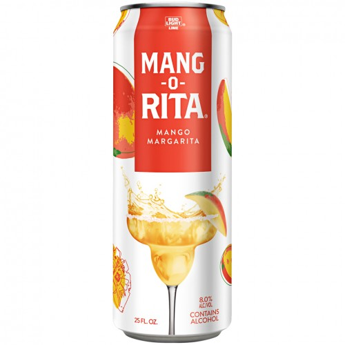Bud Light Lime Ritas Mang-O-Rita Malt Beverage 25 Fl Oz Can