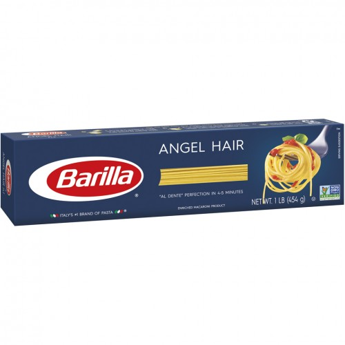 Barilla Angel Hair Pasta 1 Lb Box