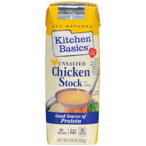 Kitchen Basics Unsalted Chicken Stock 8 25 Oz
